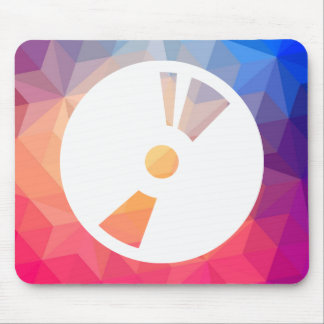 Disc Blanks Sign Mouse Pad