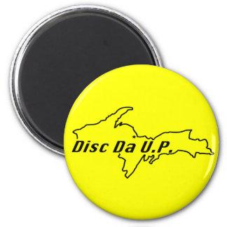 disc da u.p. stuff refrigerator magnet