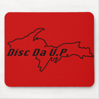 disc da u.p. stuff mousepad