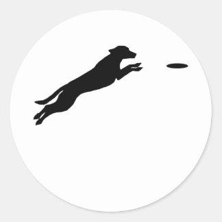 Disc Dog Classic Round Sticker