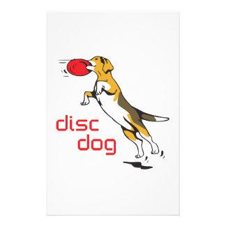 DISC DOG STATIONERY