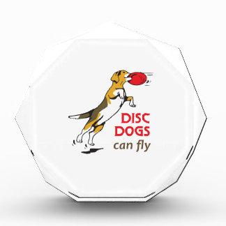 DISC DOGS CAN FLY ACRYLIC AWARD