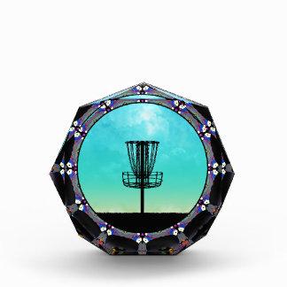 Disc Golf Abstract Basket 3 Award