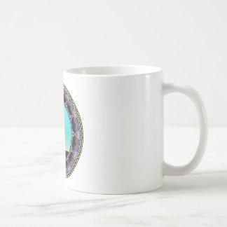Disc Golf Abstract Basket 3 Coffee Mug