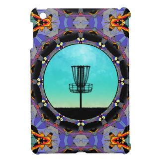Disc Golf Abstract Basket 3 iPad Mini Cover