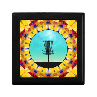 Disc Golf Abstract Basket 4 Gift Box