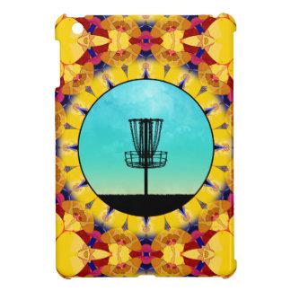 Disc Golf Abstract Basket 4 iPad Mini Cases