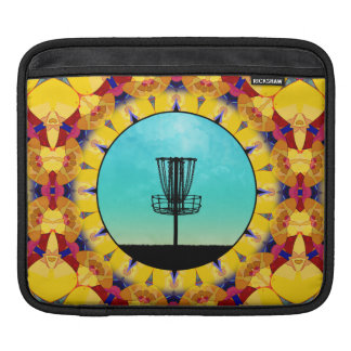Disc Golf Abstract Basket 4 Sleeve For iPads