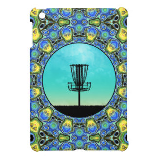 Disc Golf Abstract Basket 5 Cover For The iPad Mini