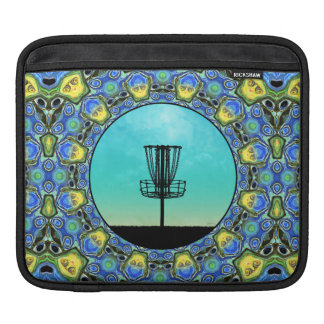Disc Golf Abstract Basket 5 Sleeve For iPads