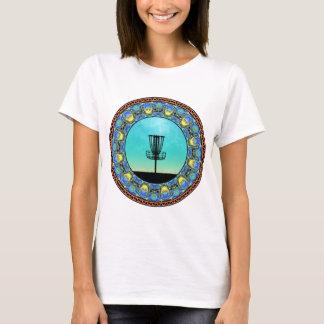 Disc Golf Abstract Basket 5 T-Shirt