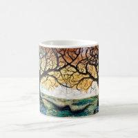 Disc Golf Art Coffee Mug