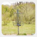 Disc Golf Basket 7 Sticker
