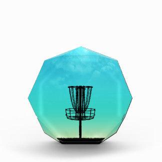Disc Golf Basket Acrylic Award