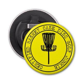 Disc Golf Basket Case Bottle Opener / Mini Marker