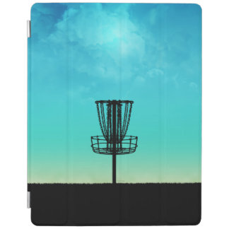 Disc Golf Basket iPad Cover