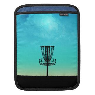 Disc Golf Basket iPad Sleeve