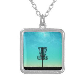 Disc Golf Basket Custom Necklace