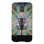Disc Golf Basket Silhouette Galaxy S5 Cases