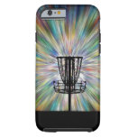 Disc Golf Basket Silhouette iPhone 6 Case