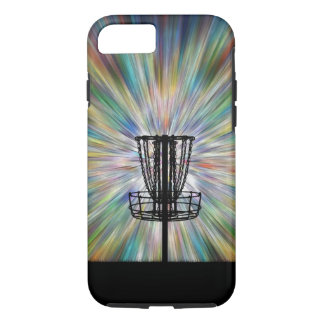 Disc Golf Basket Silhouette iPhone 7 Case
