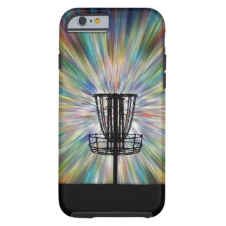 Disc Golf Basket Silhouette Tough iPhone 6 Case