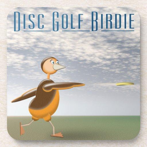 Disc Golf Birdie Drink Coaster