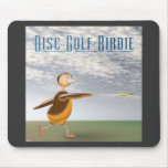Disc Golf Birdie Mouse Pad