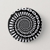 Disc Golf Chains Pinback Button