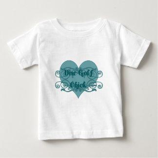 Disc golf chick baby T-Shirt