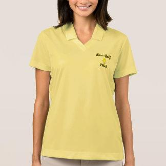 Disc Golf Chick Polo T-shirt