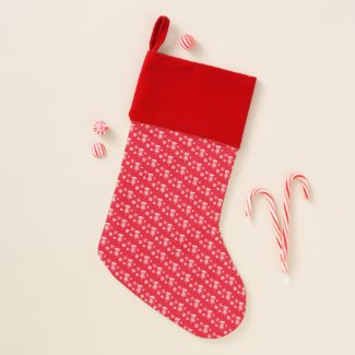 Disc Golf Christmas Stocking - Red