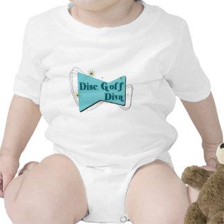 Disc Golf Diva Baby Creeper