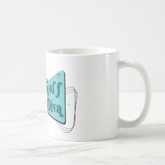 Disc Golf Diva Coffee Mug