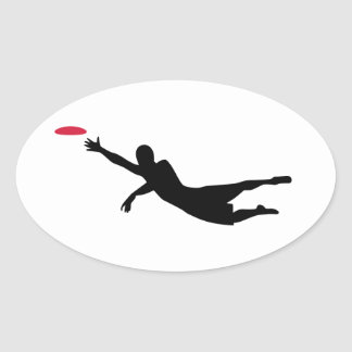 Disc golf frisbee stickers