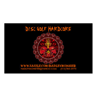 Disc Golf Hardcore Biz Cards Double-Sided Standard Business Cards (Pack Of 100)
