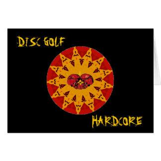 DISC GOLF HARDCORE CARD