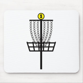 Disc Golf Hole Mouse Pad