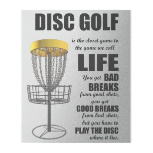 Disc Golf Art Amp Wall D 233 Cor Zazzle