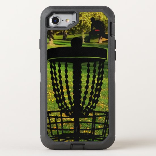 Disc Golf Junkie Otter Box Defender OtterBox Defender iPhone 8/7 Case