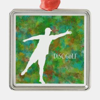 Disc Golf Metal Ornament