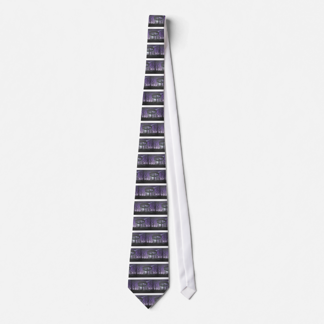 disc golf neck tie