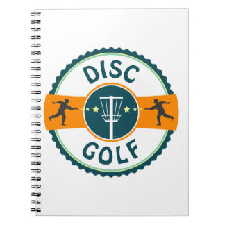 Disc Golf Notebook