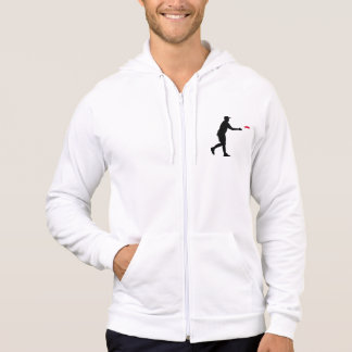Disc golf player sweatshirt