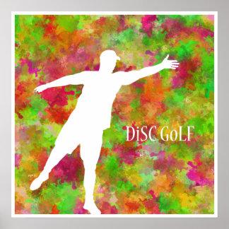 Disc Golf Poster