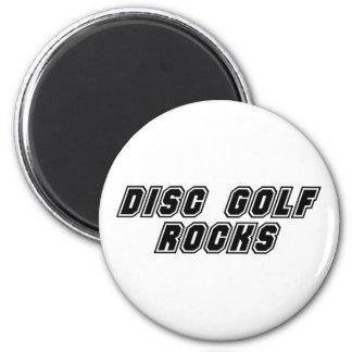 Disc Golf Rocks Refrigerator Magnet