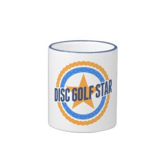 Disc Golf Star Ringer Mug