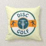 Disc Golf Throw Pillows