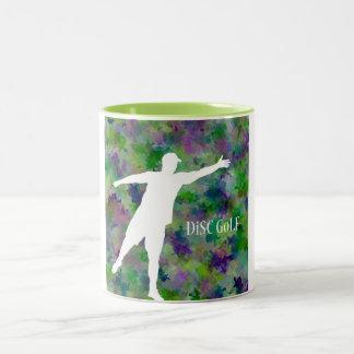 Disc Golf Two-Tone Coffee Mug