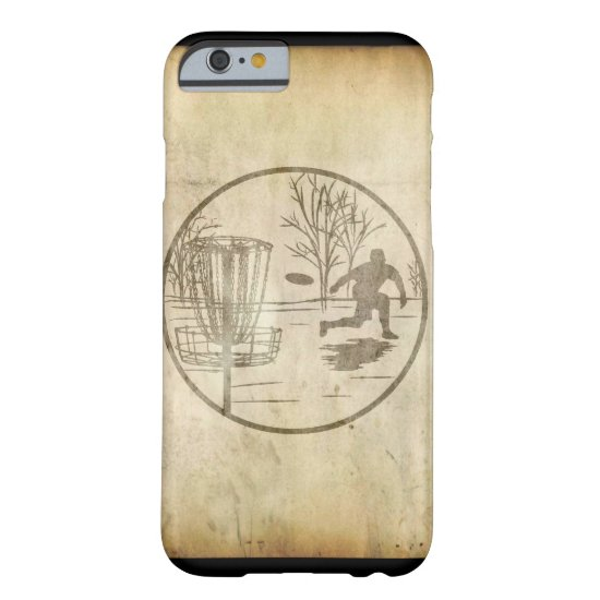Disc Golfing Barely There iPhone 6 Case
